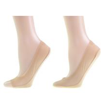 kilofly Non-Skid Silicone Patch No Show Liner Socks Set [Full toe + Toeless]