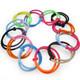 kilofly Girls Elastic Hair Ties Ponytail Holders Value Pack, Set of 36