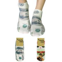 kilofly Funny Novelty Photo Socks Value Pack [Set of 2], Be a Millionaire