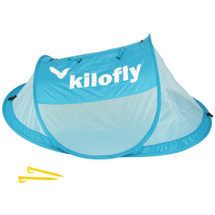 kilofly Original Instant Pop Up Portable Travel Baby Beach Tent + 2 Stake Pegs