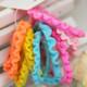 kilofly Girls Elastic Hair Ties Ponytail Holders Bands Value Pack, Set of 60