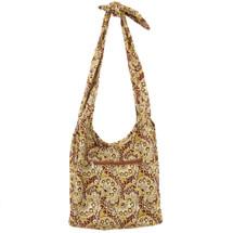 kilofly Large Bohemian Hippie Cloth Crossbody Shoulder Bag, Adjustable Strap
