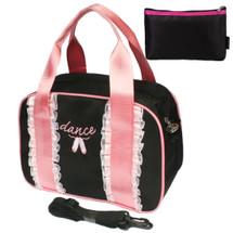 kilofly Ballerina Ballet Slippers Dance Ruffles Sling Bag Handbag + Handy Pouch