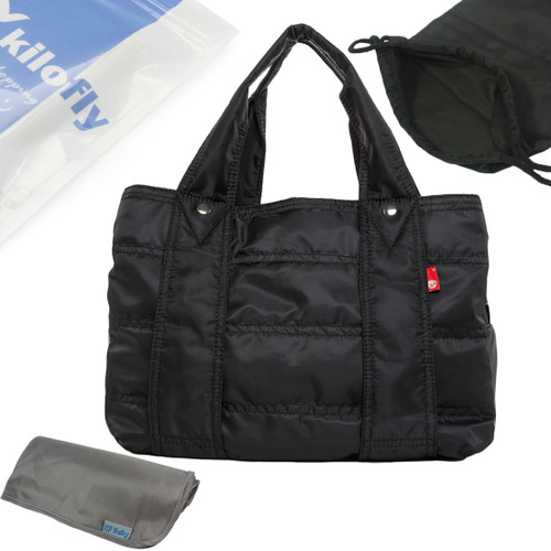 KF Baby Large Capacity Diaper Bag with Storage Pouch + Changing Pad Value Combo