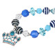 kilofly Princess Party Favor Jewelry Value Pack, Necklace Bracelet Hair Clip Set