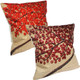 "kilofly Home Decorative 3D Print Throw Pillow Cover Case, 18"" x 18"" [Set of 2]"