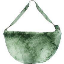 kilofly Bohemian Hippie Soft Cloth Crossbody Shoulder Bag, Adjustable Strap