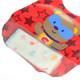 KF Baby Boy Girl Soft Waterproof Velcro Snaps Catcher Pocket Bibs Value Set of 4