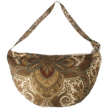 kilofly Bohemian Hippie Cloth Crossbody Shoulder Bag, Adjustable Strap