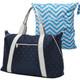 """KF Baby Large Capacity Diaper Bag Organizer 21"""" + Diaper Wet Dry Bag Value Combo"""
