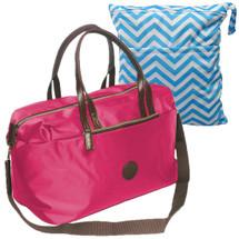 """KF Baby Large Capacity Diaper Bag Organizer 18"""" + Diaper Wet Dry Bag Value Combo"""