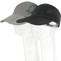 kilofly Mens Foldable Lightweight Quick Dry Adjustable Outdoor Cap, Set of 2