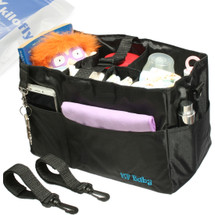 KF Baby Diaper Bag Insert Stroller Organizer, w/ Handle & 2 Attachable Straps