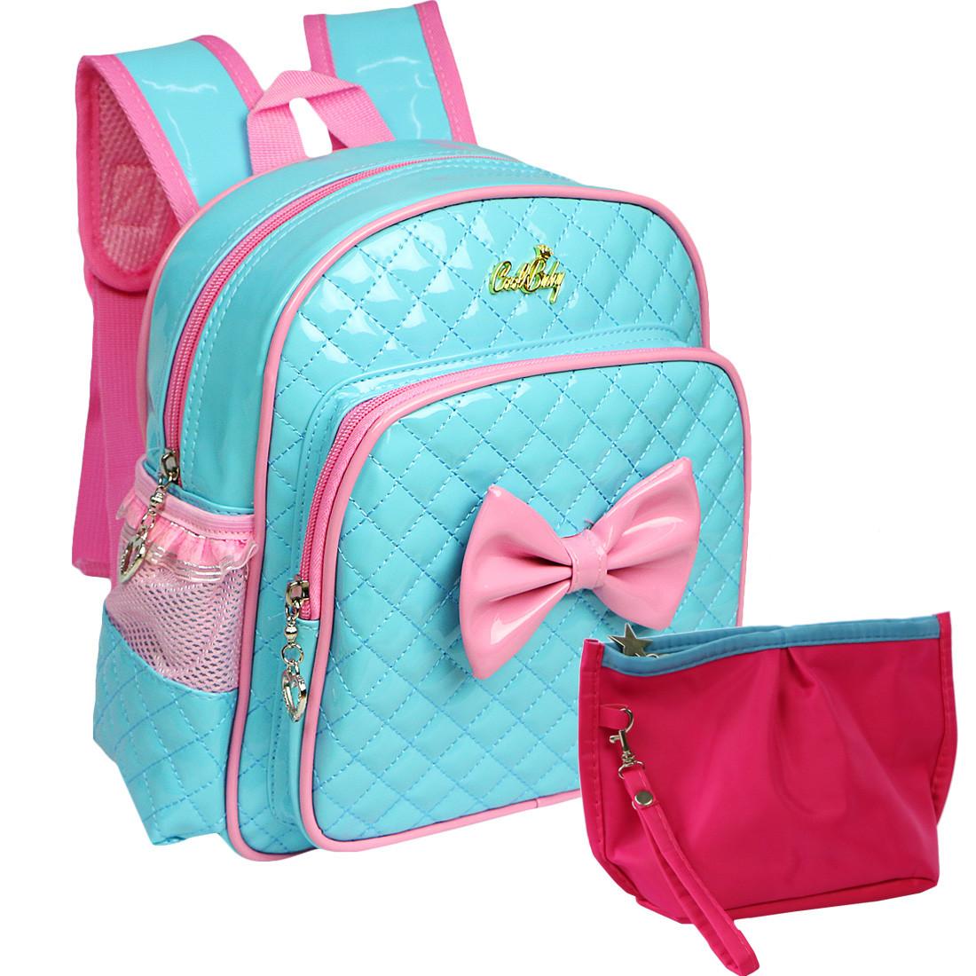 e2473109c72 Loading zoom. kilofly Kids Preschool Kindergarten Little Girl School  Backpack + Zippered Pouch