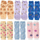 KF Baby 6pc Soft Thin Summer Knee Pads Socks Sleeve Leg Warmers Gift Value Pack