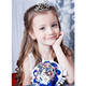 kilofly 13pc Princess Party Favor Crown Crystal Rhinestone Tiara Hair Comb Clip