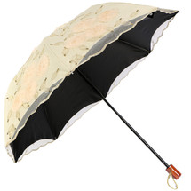 Kilofly Anti Uv Embroidered Sun Protection Folding Parasol Nice