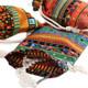 kilofly 12pc Egyptian Style Jewelry Coin Pouches Aztec Print Drawstring Gift Bag