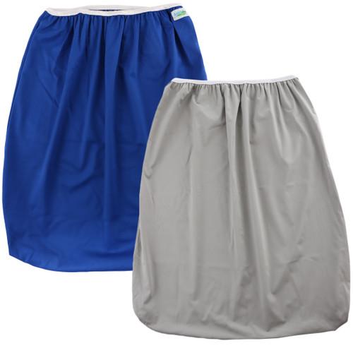 KF Baby 2pc Reusable Large Waterproof Pail Liner Cloth Diaper Laundry Bag Set
