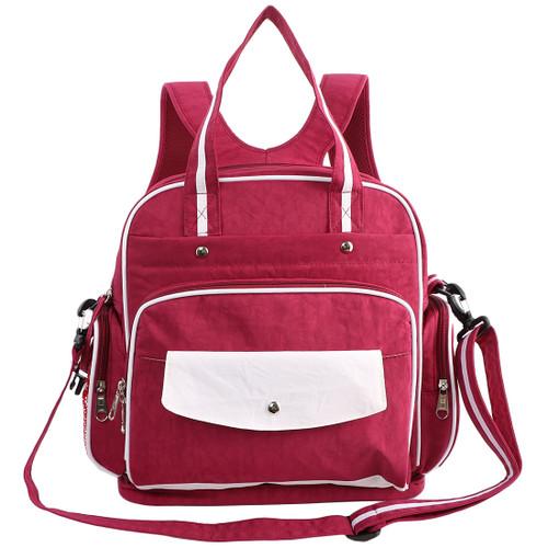 KF Baby Multi Pockets Travel Changing Diaper Bag Shoulder Handbag Backpack