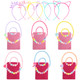 kilofly 6 Sets Princess Party Favors Girls Jewelry Value Pack + Gift Pouches