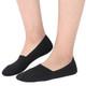 kilofly 4 Pairs Women's Soft No Show Non-Skid Silicone Grip Cotton Liner Socks