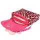 kilofly 2pc Little Girls Plush Purse Handbag Shoulder Bag + Detachable Strap Set