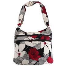 kilofly Bohemian Hippie Cotton Cloth Multi Pockets Shoulder Bag Handbag Tote