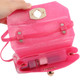 kilofly Girl's Jelly Candy Satchel Shoulder Bag Handbags + Silicone Coin Purse