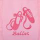 kilofly Girls Ballerina Ballet Tutu Duffel Crossbody Dance Bag + Zippered Pouch