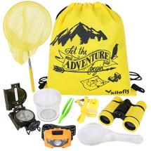 kilofly 9-in-1 Kids Nature Explorer Kit Fun Backyard Bug Catching Adventure Pack