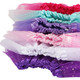 kilofly Girls Ballet Tutu Kids Birthday Princess Party Favor Dress Skirt, Set of 6