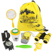 kilofly Kids Nature Explorer Kit Fun Backyard Bug Catching Adventure,8 in 1
