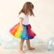 kilofly 3 Girls Ballet Dance Rainbow Tutu Princess Tulle Skirts