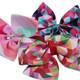 kilofly 3 Sets Girls Ballet Rainbow Tutu Princess Tulle Skirts with Hair Bows