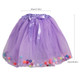 kilofly 4 pcs Girls Ballet Tutu Princess Party Puffy Ball Tulle Skirts Dress