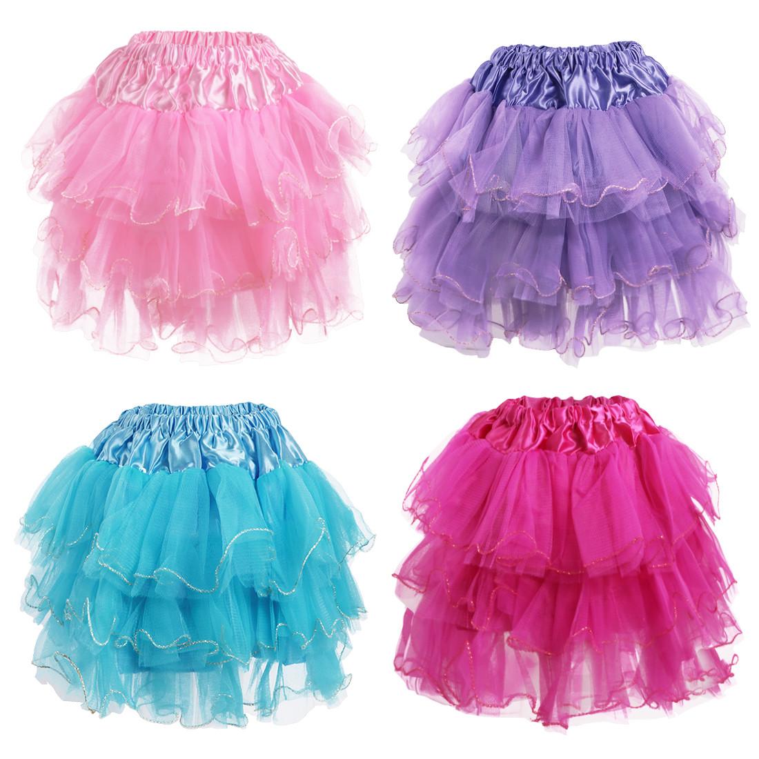 67bf4d598 Kilofly 4 pcs Girls Ballet Tutu Pleated Princess Party Fluffy Tulle Skirt  Dress. Loading zoom