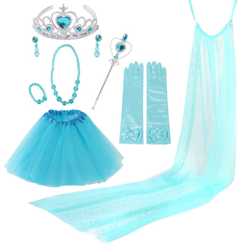 kilofly Princess Party Favor Jewelry Costume Set Girls Birthday Gift Value sets