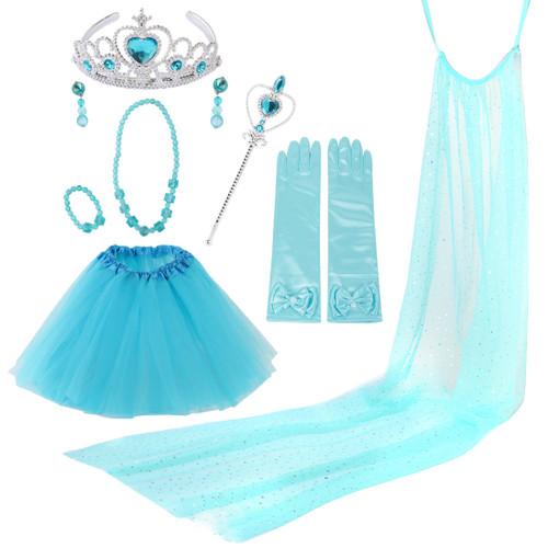 kilofly Princess Party Favor Jewelry Costume Set Girls Birthday Gift Value sets