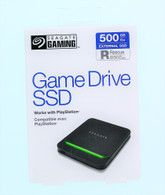Seagate 500GB Gaming Drive SSD Works With PlayStation