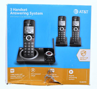 AT&T 3 Handset Answering System Telephone CL82319