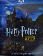 Harry Potter Complete 8 Film Collection For Blu-Ray