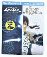 Avatar & The Legend Of Korra Complete Collection Blu-Ray