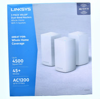 Linksys Dual Band Routers Whole Home WiFi Home WiFi 5 System 3 Pack Velop (AC1200)
