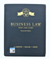 Business Law Text And Cases Fourteenth Edition Book