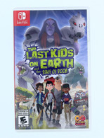 NINTENDO SWITCH GAME The Last Kids on Earth and the Staff of Doom