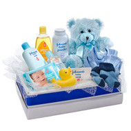 Boy Hugs - Basket of Goodies