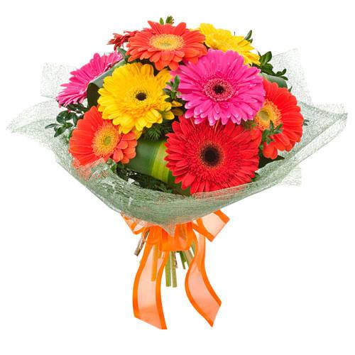 Carnivale - Bouquet of Mixed Gerberas