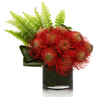Pincushion Protea , large  Arrangement .