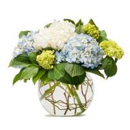 Hydrangea Bowl ( mix colours)